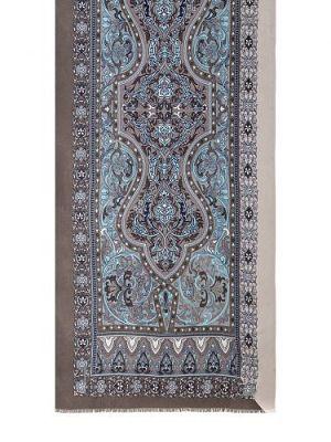 Палантин женский Eleganzza S43-0797 голубой/серый