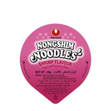 Лапша быстрого приготовления Nongshim с креветками стакан 65 г