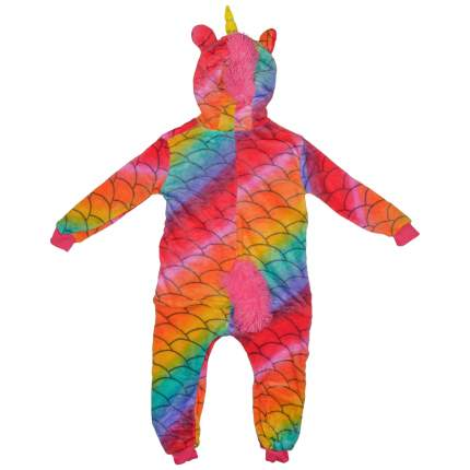 Пижама-кигуруми Lilkrok Единорог Хамелеон 126-135 см