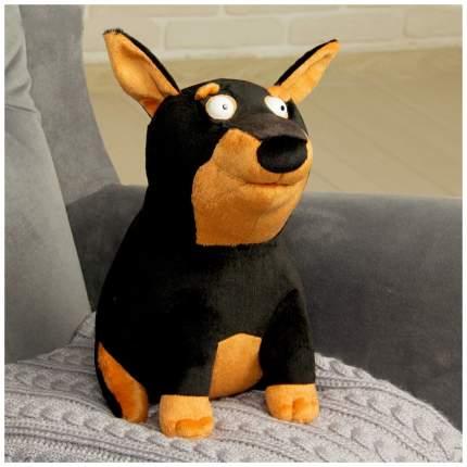 Мягкие игрушки животные Играмир Собачушка Доберман
