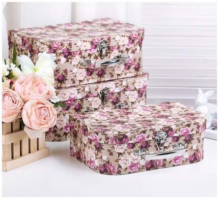 Набор коробок 3в1, 32 х 23 х 12,5 - 27 х 18 х 9,5 см Sima-Land