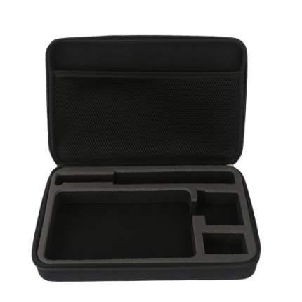 Кейс Telesin для GoPro, Xiaomi, SJCAM, EKEN и аксессуаров L Black