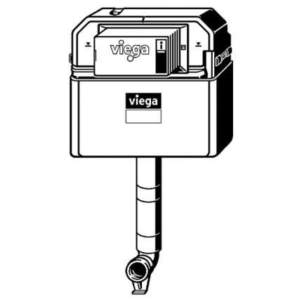 Бачок скрытого монтажа Viega Prevista Dry 771904