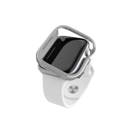 Чехол X-Doria Defense Edge Apple Watch 44mm Silver