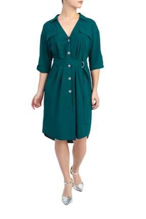 Платье женское LACY S10619(3948) зеленое 58 RU
