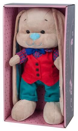 Мягкая игрушка Jack&Lin Зайка в красной жилетке