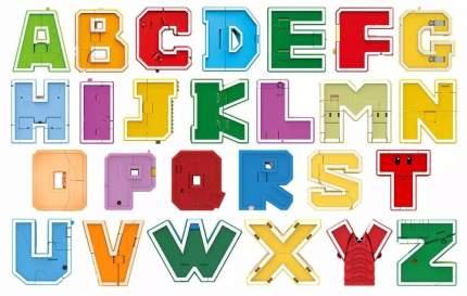 Игровой набор 1 TOY Lingvo Zoo Зооботы буквы английского алфавита Трансботы 26 букв Т15507