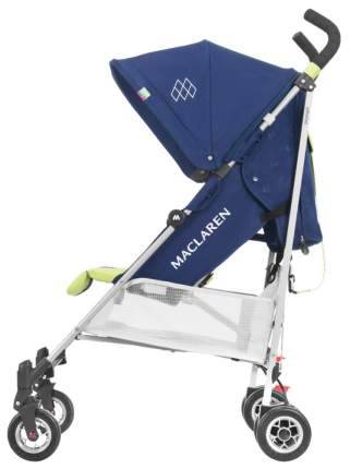 Прогулочная коляска Maclaren Triumph Medieval Blue/Limeade