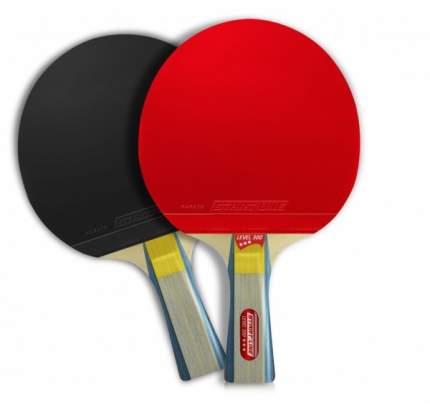Ракетка для настольного тенниса Start Line 12401 Level 300, черно-красная