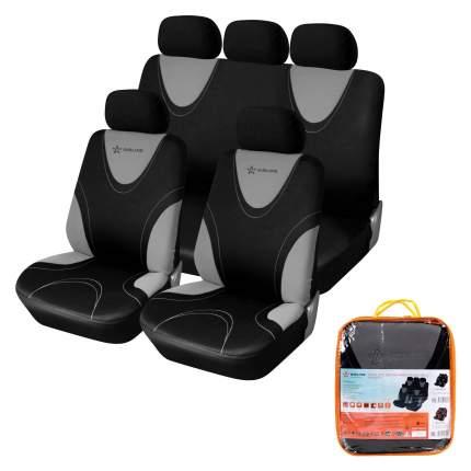 """Чехлы для сидений """"RS-1k"""", передние/задние(9 предметов), AIRLINE ACS-PP-03"""