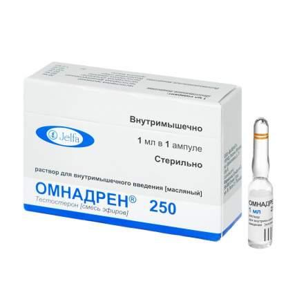 Омнадрен 250 раствор для и масл амп 1 мл N1