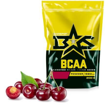 Аминокислоты Binasport BCAA БЦАА порошок 200 г со вкусом вишни