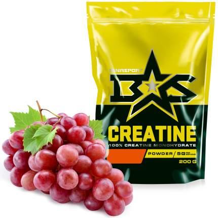 Креатин моногидрат порошок Binasport Creatine 200 г со вкусом винограда