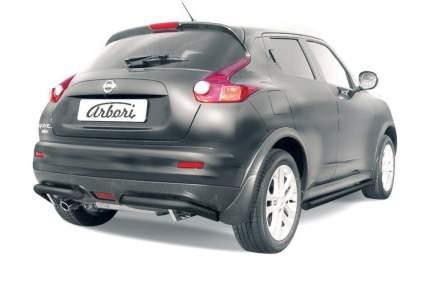 Уголки d57 Arbori черн. для Nissan JUKE 2011-2014