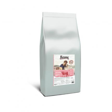 Сухой корм для собак Karmy Delicious Medium&Maxi,для средних и крупных пород,телятина,15кг