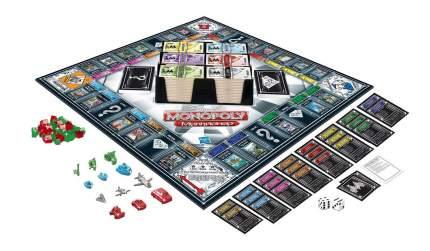 Экономическая настольная игра Monopoly Монополия Миллионер 98838
