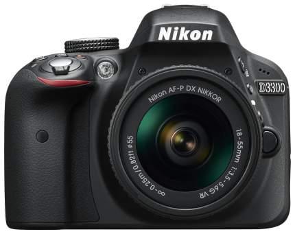Фотоаппарат зеркальный Nikon D3300 18-55mm VR II Black