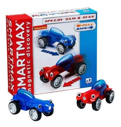 Магнитный конструктор smartmax/Bondibon специальный набор инерц.:гонщики сэм и стэн