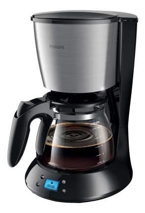 Кофеварка капельного типа Philips HD7459/20 Black/Silver