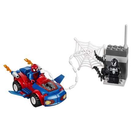 Конструктор LEGO Juniors Spider-Man: Автомобиль Человека-паука (10665)