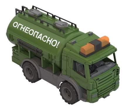 Военная цистерна Нордпласт Огнеопасно