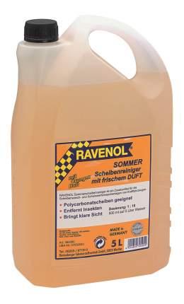 Концентрат жидкости для стеклоомывателя RAVENOL 5°C 5л 1:10 1360080-005-01-000