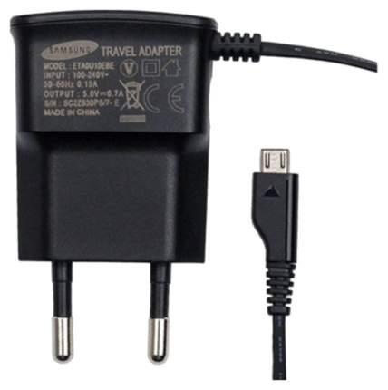 Сетевое зарядное устройство Samsung microUSB 0,7A Black