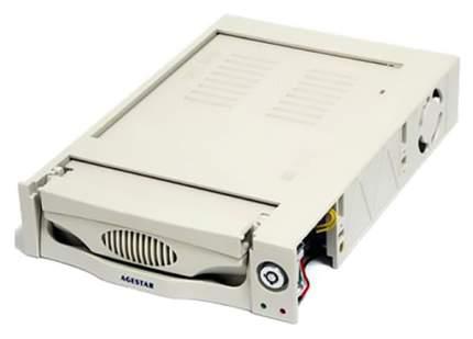 Салазка для HDD 3.5 AGESTAR SRTP-K-2F 2fan бежевый