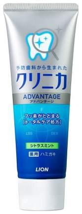 Зубная паста Lion Clinica Advantage Citrus mint с ароматом цитруса и мяты 130 гр