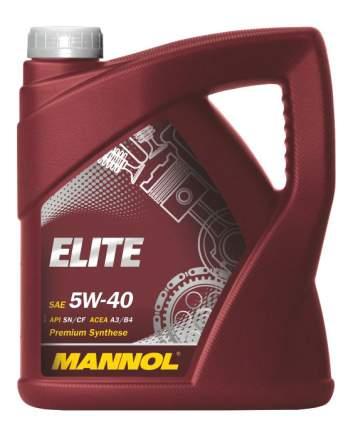Моторное масло Mannol Elite Fully Synthetic Motor Oil 5W-40 4л