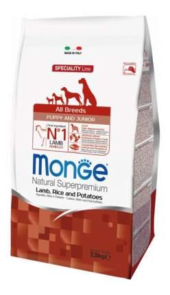 Сухой корм для щенков Monge Speciality Puppy&Junior, все породы, ягненок, рис, 2,5кг