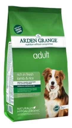Сухой корм для собак Arden Grange Adult, ягненок, рис,  2кг