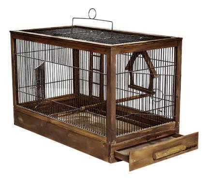 Клетка для птиц ZOO-M 56x30x35