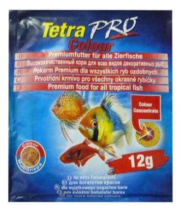 Корм для декоративных рыб Tetra PRO Colour, для улучшения окраски, чипсы, 12 г