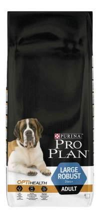 Сухой корм для собак PRO PLAN OptiHealth Large Robust Adult, крупные породы, курица, 14кг