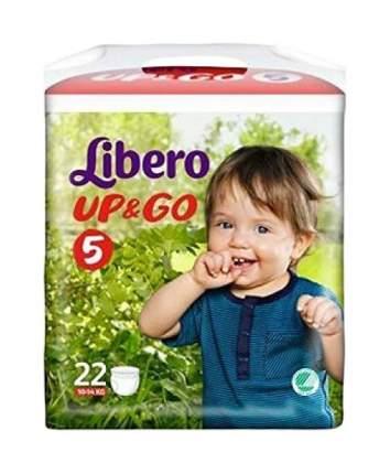 Подгузники Libero Up&Go 5 (10-14 кг), 22 шт.