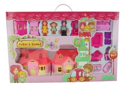 Кукольный дом Дом для кукол, с Мебелью и Фигурками 236