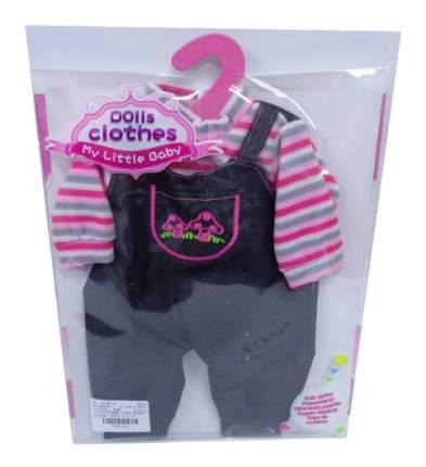 Джинсовый костюмчик для кукол Junfa toys