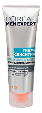 Крем после бритья L'Oreal MEN EXPERT Гидра сенситив для чувствительной кожи 75 мл