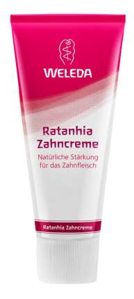 Зубная паста WELEDA Ратания 75 мл
