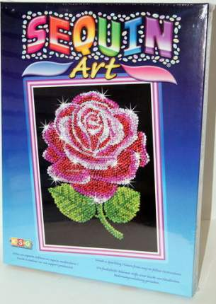 Мозаика из блесток KSG Роза (1001)