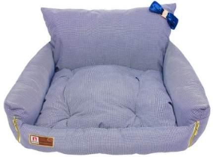 Лежанка для кошек и собак ЗООГУРМАН 45x40x40см синий