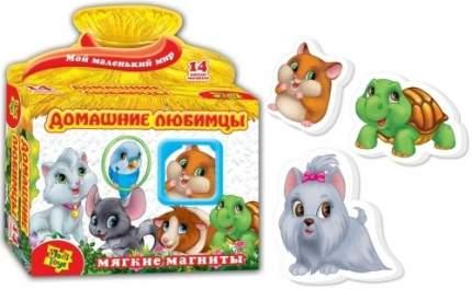 Мягкие магниты Vladi Toys Домашние любимцы (VT3101-07)