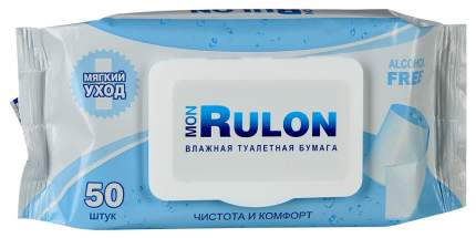 Туалетная бумага Mon Rulon Влажная 50 шт.