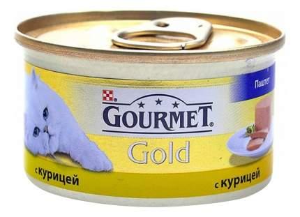 Консервы для кошек Gourmet Gold, курица, 85г