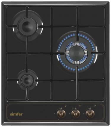 Встраиваемая варочная панель газовая Simfer H45V35L511 Black