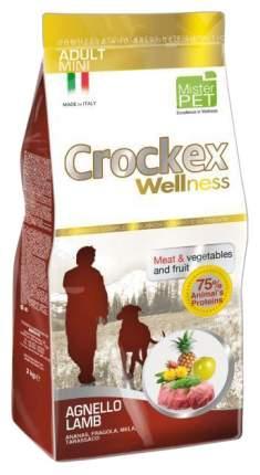 Сухой корм для собак Crockex Wellness Adult Mini, ягненок, рис, 2кг