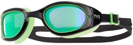 Очки для плавания TYR Special Ops 2.0 Polarized LGSPL черные/зеленые (340)