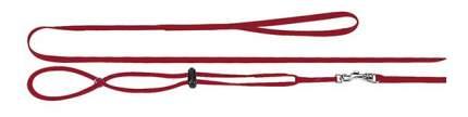 Поводок и шлейка Ferplast для морских свинок, хорьков, красный