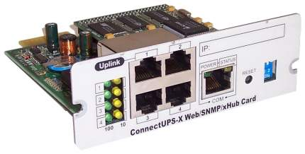 Сетевая карта Eaton ConnectUPS-X Web/SNMP/xHub card 116750221-001